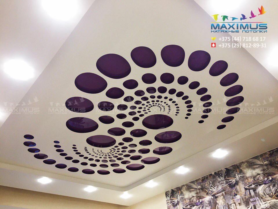 РЕЗНЫЕ 3d потолки (new!)